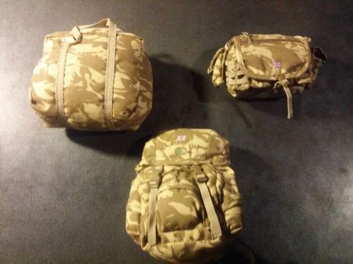 3 Bags Desert DPM 1//6 Barrack Sergeant Set SOTW IV