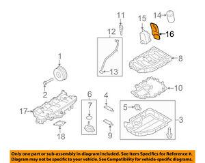 2003 Audi A4 1.8L ENGINE MOTOR OIL COOLER OEM