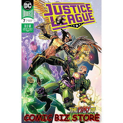 JUSTICE LEAGUE #7 (2018) 1ST PRINTING DC UNIVERSE CHEUNG & MORLAES MAIN COVER