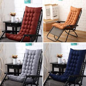 Garden-Seat-Pad-Cushion-Chair-Rocking-Deck-Chair-High-Back-Outdoor-Thick-Sun