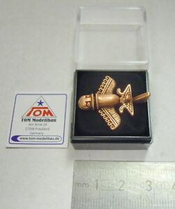 AVIATOR-GOLD-Numero-02-Broche-palao-SETI-astronautes-cuivre-ancien-NEUF