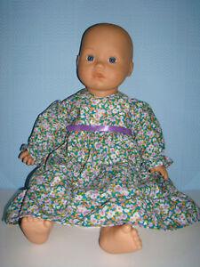 Beautiful Handmade Green LIla Frill Dress. To Fit Baby ...