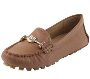 New-COACH-Arlene-Turnlock-Brown-Driver-Moccasins-Loafers-Shoes-Size-6-9