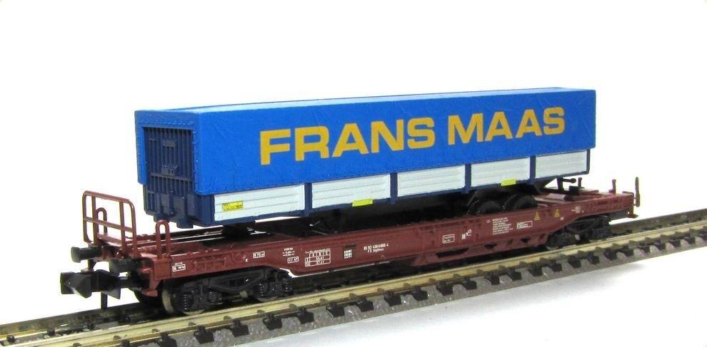 Fleischmann FS bolsillos Cochero con camión-hummer camastro Frans Maas PE V KK n nuevo