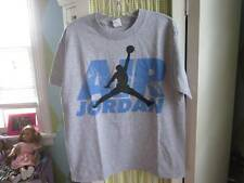 Air Jordan Nike boys gray ss tee Sz Large