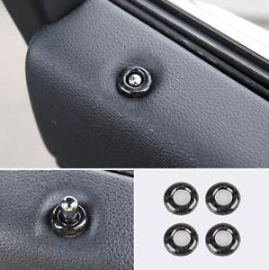 Carbon Fiber internal Door Lock Pins Cover Trim For 11-2020 Jeep Grand Cherokee