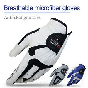 Men-039-s-Golf-Player-Left-Hand-Glove-Men-Slip-resistant-Breathable-Non-slip-Gloves