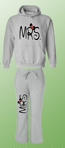 Mr and Mrs Couple Matching Set Hoodie and Sweatpants Mr Mrs His Hers Couple Set