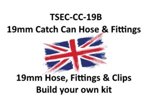 Costruisci il tuo KIT 19MM TUBO può cattura i raccordi e clip