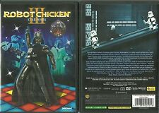 RARE / DVD - STAR WARS III : ROBOT CHICKEN /COMME NEUF -  LIKE NEW