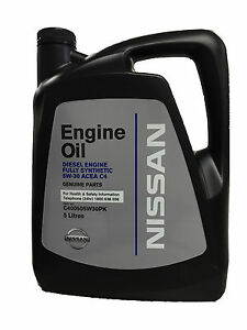 genuine nissan fully synthetic diesel engine oil 5w30. Black Bedroom Furniture Sets. Home Design Ideas