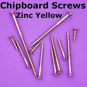 6000-8g-X-28mm-Zinc-Chipboard-Screws-Phillips-Head-Countersunk-Timber-Wood