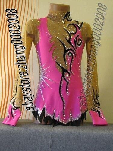 Stylish rhythmic gymnastics leotard,Acrobatic competition baton twirling leotard