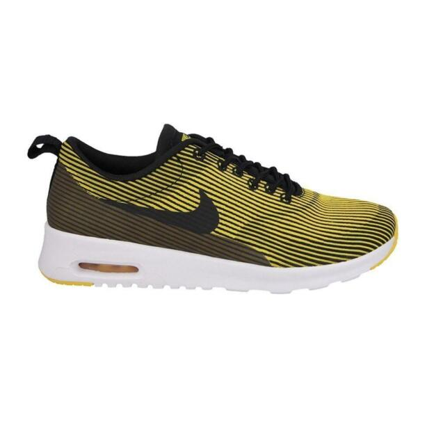 1d836fab94 WMNS Nike Air Max Thea KJCRD Yellow Black NSW Womens Running Shoes ...
