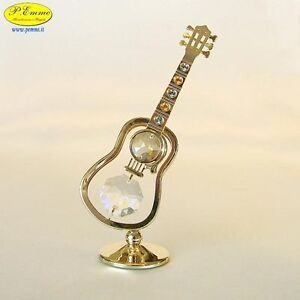 CHITARRA CLASSICA GOLD SWAROVSKI ELEMENTS