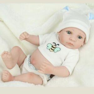 HANDMADE NEWBORN BABY BOY DOLL FULL SILICONE VINYL REALISTIC REBORN DOLLS XMAS 701203253599
