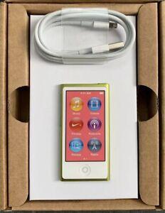 Apple-iPod-nano-7th-7-Generation-16GB-Gelb-Yellow-NEU-NEW-7G-RAR-Collectors