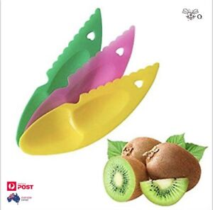 Fruit-Gadget-Kiwi-Melon-Dig-Spoon-Scoop-Plastic-Fruit-Knife-Slicer-Peeler-Cutter