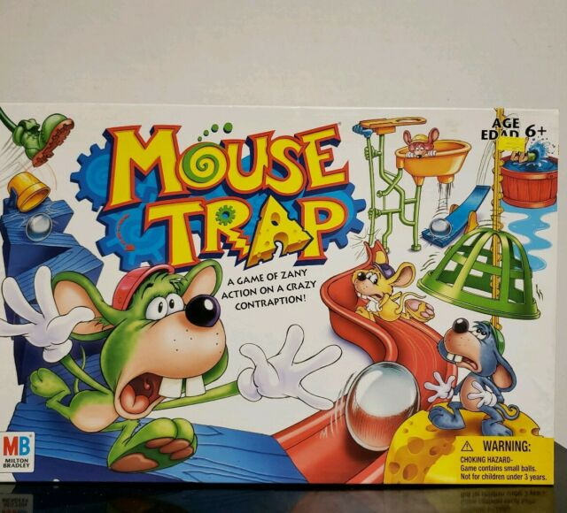 Hasbro Mouse Trap Board Game Replacement Pieces Parts 1999 Marbles Mouse Man