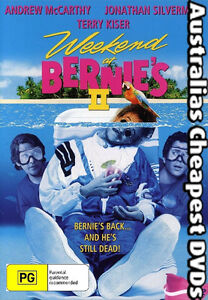 Weekend-At-Bernie-039-s-2-DVD-NEW-FREE-POSTAGE-WITHIN-AUSTRALIA-REGION-ALL