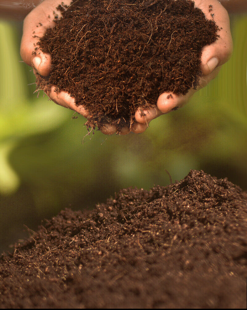 2KG Coco Peat Fertilizer Good Quality Home & Garden Agriculture FREE SHIPPING