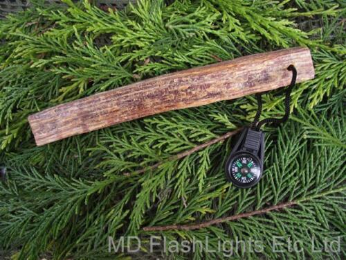 Md Fettholz /& Mini mit Flüssigkeit Gefüllter Knopf Kompass Feuerentfachende