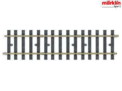 NEW MÄRKLIN 59058 HÜBNER 1005 Spur 1 Gerades Gleis c132 Länge 300 mm. H1005