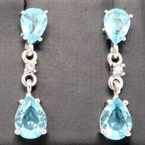 Large-2Ct-Pear-Blue-Aquamarine-Drop-Earrings-Women-Wedding-Jewelry-14K-Gold