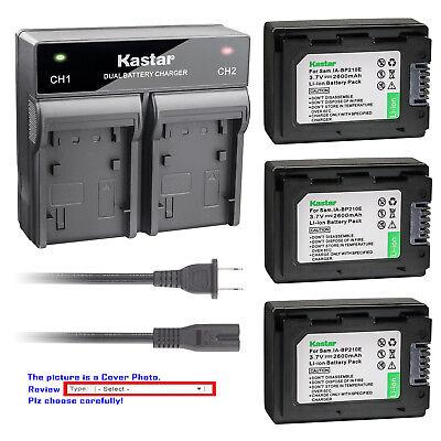 SMX. HMX USB-Charger for Samsung IA-BP105R BP210E BP210R BP420E