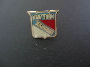 NHL New York Rangers Logo Pin