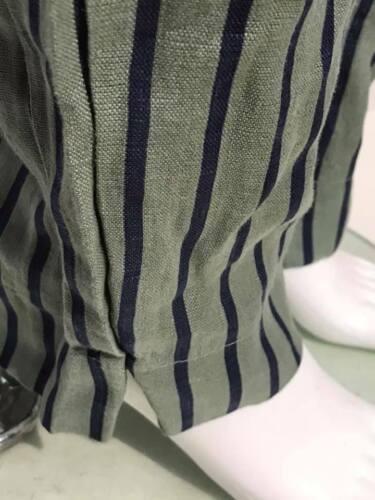 ITALIAN LINEN TROUSERS PLUS SIZE LAGENLOOK 2 POCKET BOHO LINEN PANTS NEW LADIES
