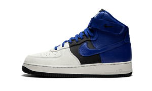 Details about Nike Air Force 1 High '07 LV8 Pure PlatinumDeep Royal Blue Men's 806403 009