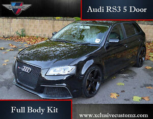 Audi Rs3 5 Door Body Kit For Audi A3 8p 2004 To 2009