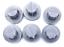 KENWOOD-Kit-6-Piedi-di-Appoggio-per-Planetaria-KM080-KM086-KM096-COOKING-CHEF miniatura 1