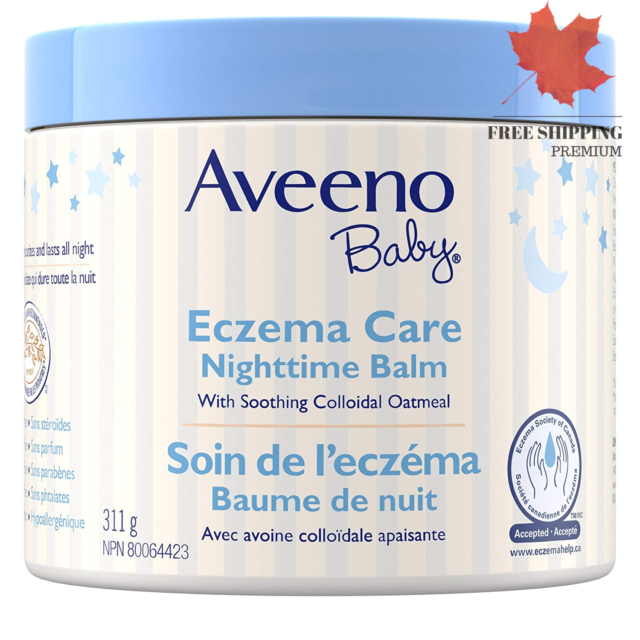 Eczema Care Night Cream Bedtime Balm and Moisturizing Lotion Paraben Free 311G