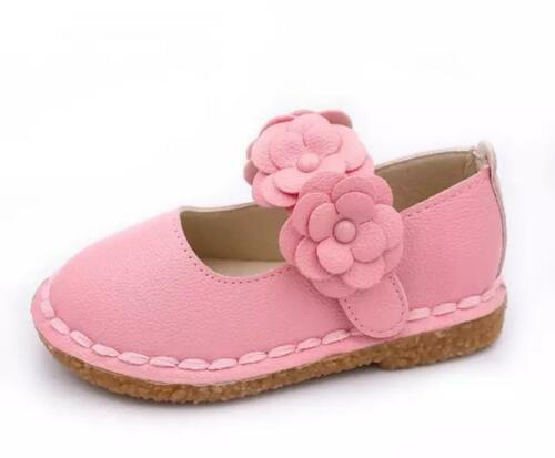 Arch Support Girls Flower Strap Mary Jane Flat Comfort Shoes