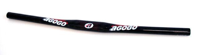 AGOGO Lenker MTB Voll-Carbon 31,8mm 580mm 140g
