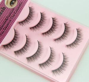 Beauty-Natural-False-Fashion-Fake-Eyelashes-Makeup-Soft-Cosmetic-Free-shipping