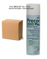 Precor Flea Spray ( 12 Cans ) Flea Control Flea Killer Treatment 2000 Sq Ft