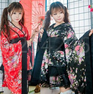 Details Plus Lolita Kimono Size Cosplay Kleid Kostüme Mädchen Zu Damen Japanese Yukata c34ARjLq5