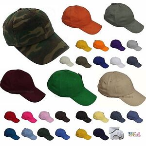 17ef62a7543 Baseball Cap Washed Cotton Polo Style Golf Hiking Hip Hop Gym Army ...