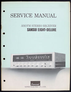 Fm Radio Receiver Circuit Diagram | Sansui Eight Deluxe Original Am Fm Stereo Receiver Service Manual