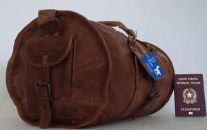 Handmade-Leather-Goat-18-034-Duffel-Bag-DSR-Sport-Cabin-Travel-Billy-Goat-Designs