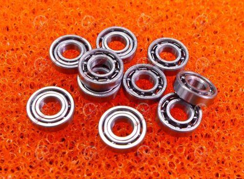 2x5x2 mm Metal Open Ball Bearing Bearings 2mm x 5mm x 2mm 2*5*2 5 PCS MR52