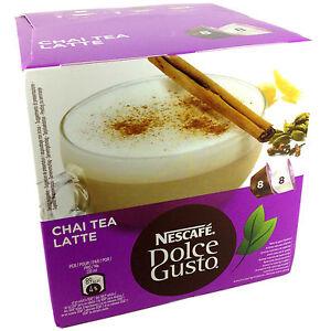 nescafe dolce gusto chai tea latte chai tea w milk 6. Black Bedroom Furniture Sets. Home Design Ideas