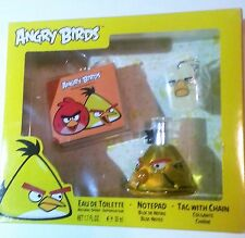 Angry Birds Eau De Toilette - Notepad - Tag With Chain