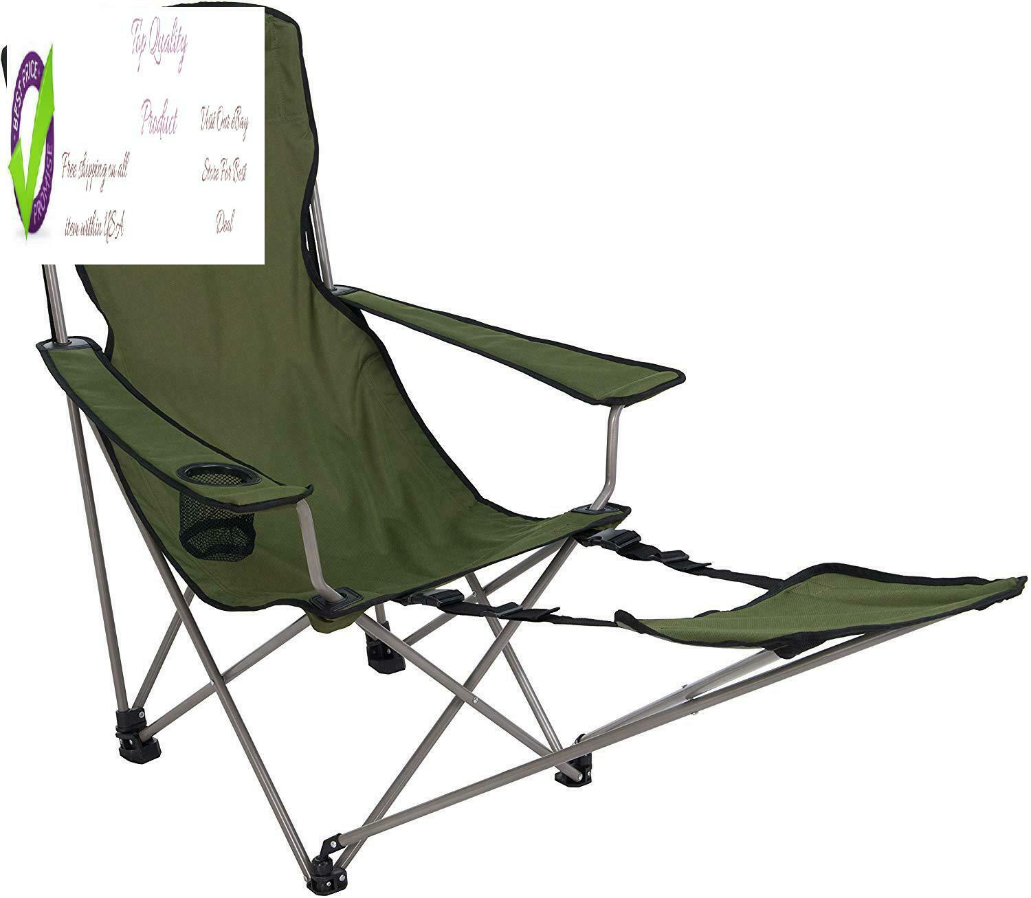 Alps Mountainee Escape Camp Chair, Green