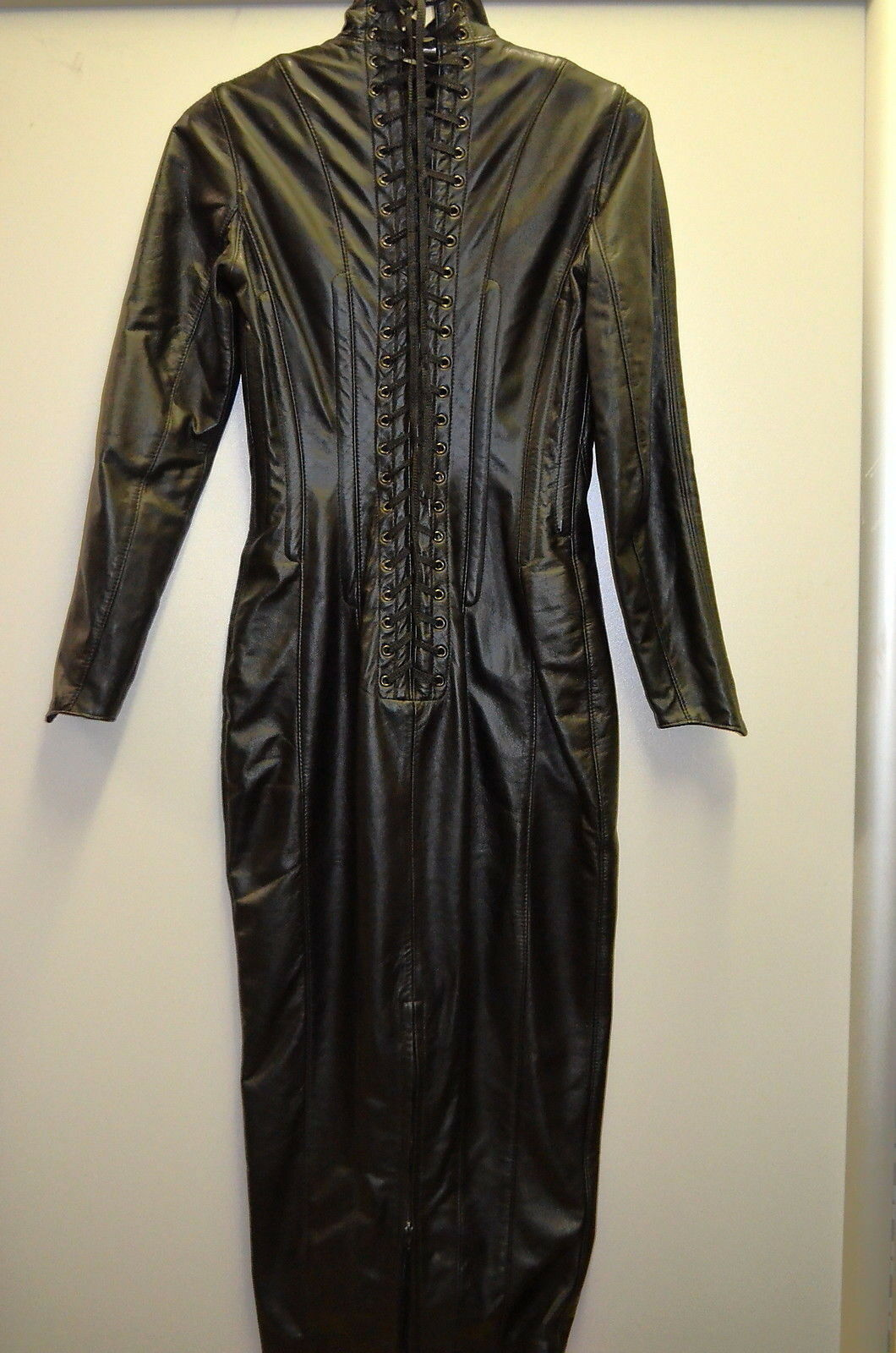 North Bound Leather dress talla M in style 6181 made in M Canada 100% cuero pos 70 a14c0f