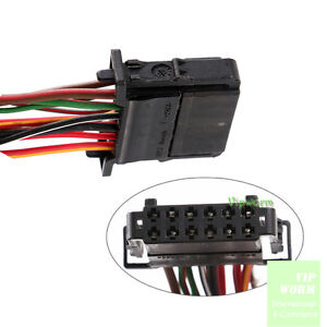 image is loading for-vw-audi-skoda-seat-12-pin-connector-