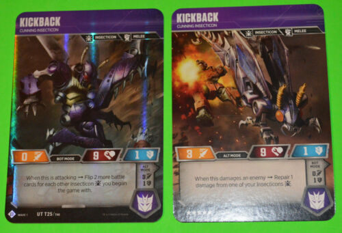 TRANSFORMERS TCG Wave 1SELECT YOUR /> *NEW* Character Foil game cards